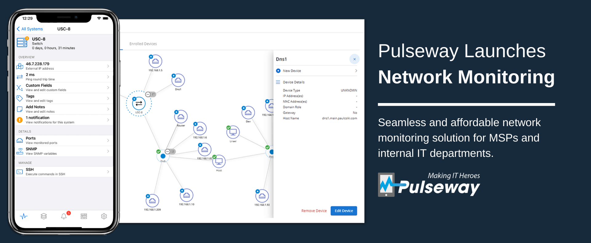 Pulseway Launches Network Monitoring